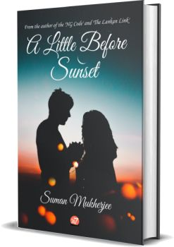 A little before Sunset, By Suman Mukherjee